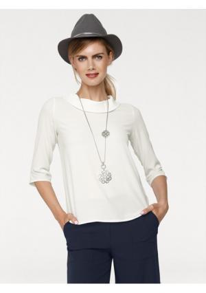 Блузка RICK CARDONA by Heine. Цвет: молочно-белый