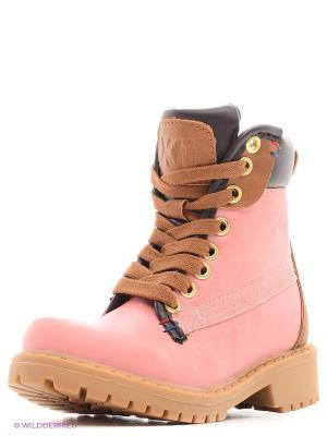 Ботинки XTI. Цвет: розовый