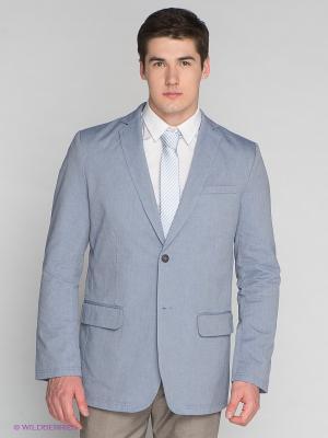 Пиджак TATUUM. Цвет: голубой