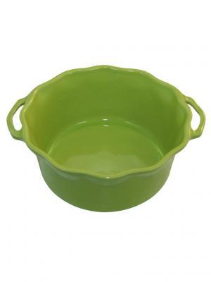 Форма для суфле 21 см 2,2л Appolia. Цвет: салатовый