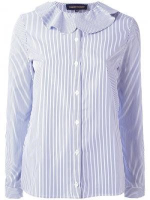 Рубашка в полоску Vanessa Seward. Цвет: синий