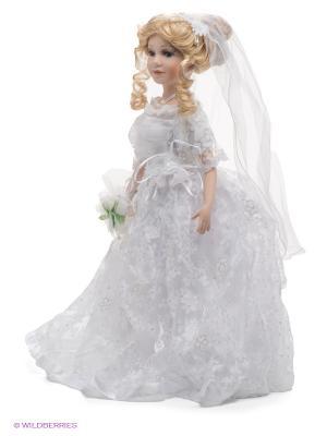 Кукла фарфоровая Анастасия, 18 Lisa Jane. Цвет: бледно-розовый, белый