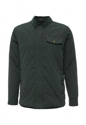 Куртка утепленная Animal. Цвет: зеленый