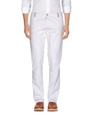 Повседневные брюки DIMATTIA. Цвет: белый