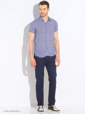 Рубашка Dairos. Цвет: индиго