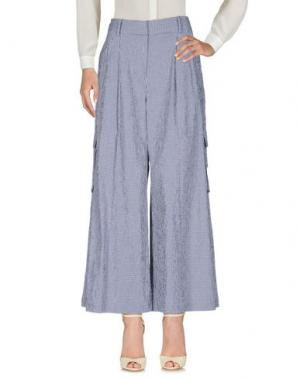 Повседневные брюки ROSIE ASSOULIN. Цвет: темно-синий