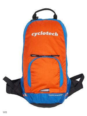 Рюкзак Cyclotech. Цвет: голубой, оранжевый