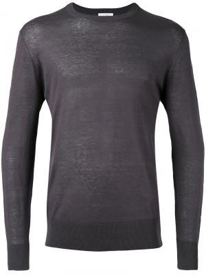 Пуловер Maglia Ballantyne. Цвет: серый