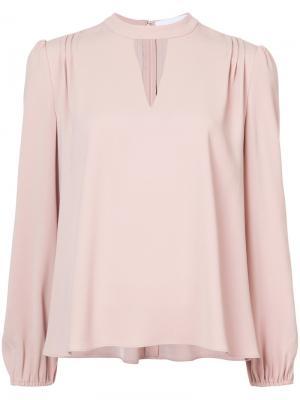 Keyhole detail blouse Co. Цвет: телесный