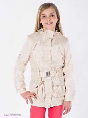 Куртка BOOM. Цвет: светло-бежевый