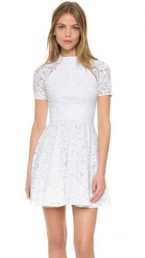 Мини-платье Oasis Lover. Цвет: белый