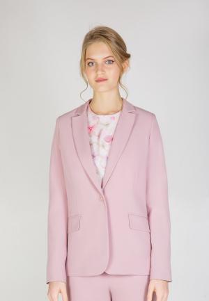 Пиджак Виреле. Цвет: розовый