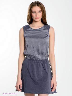 Платье Yerse. Цвет: серый
