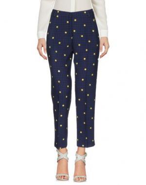 Повседневные брюки LAURA URBINATI. Цвет: синий