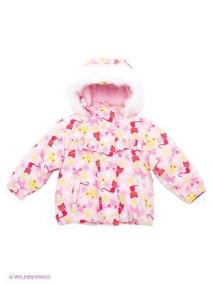 Куртка KUUTTI. Цвет: бледно-розовый, салатовый, малиновый