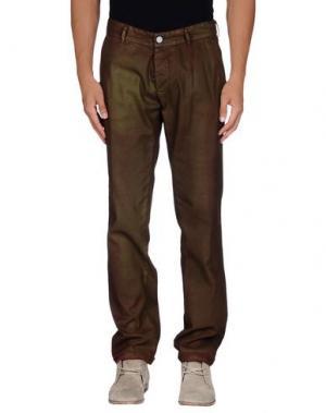 Повседневные брюки GUYA G.. Цвет: зеленый-милитари