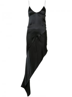 Платье Ronda Wanda Nylon. Цвет: чёрный