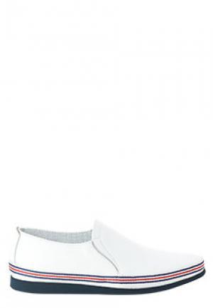 Лоферы ALDO BRUE. Цвет: белый