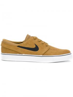 Кроссовки Stefan Janoski Skate Nike. Цвет: коричневый