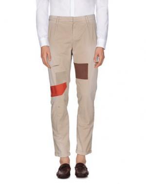 Повседневные брюки REIGN. Цвет: красно-коричневый