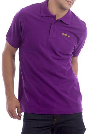 Футболка-поло POLO CLUB С.H.A.. Цвет: фиолетовый