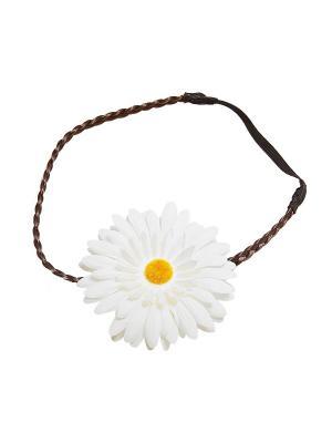 Повязка Kameo-bis. Цвет: белый, желтый, коричневый