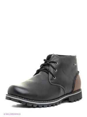 Ботинки Shoiberg. Цвет: темно-серый, серый