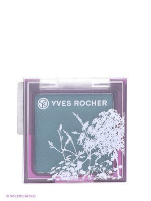 Тени для век - 61 Морская Волна, 2 г VPM Yves Rocher. Цвет: темно-зеленый