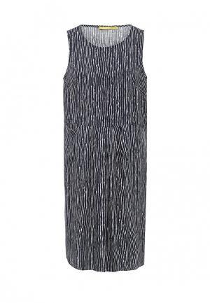 Платье Vis-a-Vis. Цвет: синий