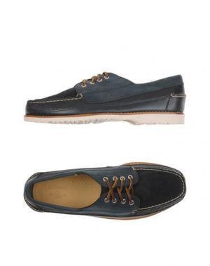 Обувь на шнурках G.H. BASS & CO. Цвет: грифельно-синий