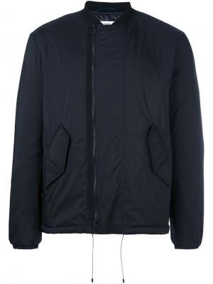 Куртка на молнии Oamc. Цвет: чёрный