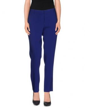 Повседневные брюки AQUILANO-RIMONDI. Цвет: ярко-синий