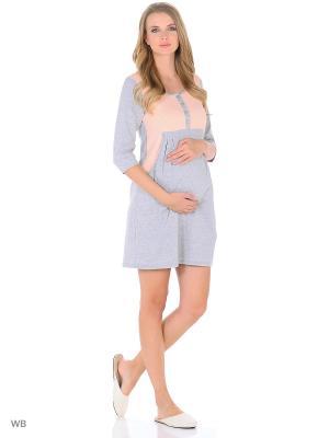 Домашнее платье для беременных и кормящих ФЭСТ