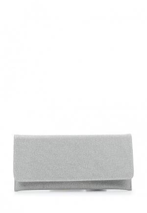 Клатч Menbur. Цвет: серебряный