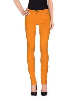 Повседневные брюки SIVIGLIA. Цвет: оранжевый
