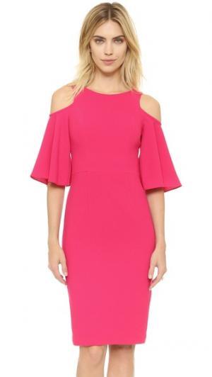 Платье-футляр Adara Black Halo. Цвет: розовая лагуна