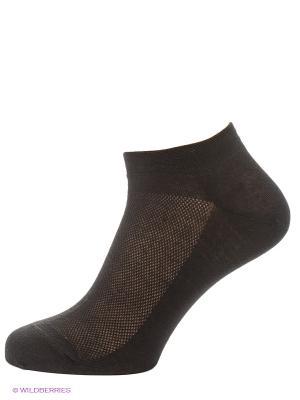 Носки, комплект 5 пар Uomo Fiero. Цвет: черный
