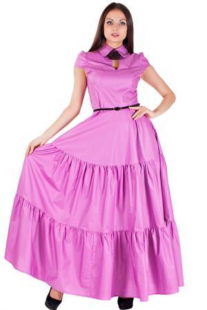 Платье Mannon. Цвет: розовый