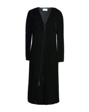 Платье длиной 3/4 GEORGE J. LOVE. Цвет: черный