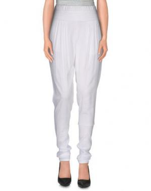 Повседневные брюки VIKTOR & ROLF. Цвет: белый