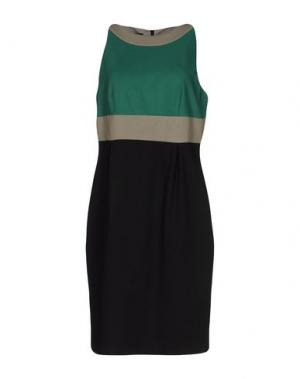 Платье до колена GIO' GUERRERI. Цвет: зеленый