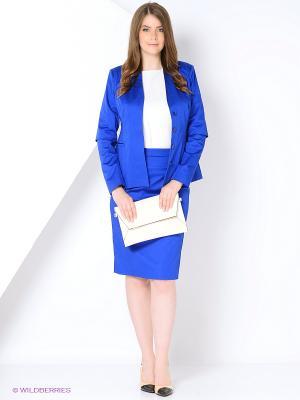 Жакет FLEURETTA. Цвет: синий