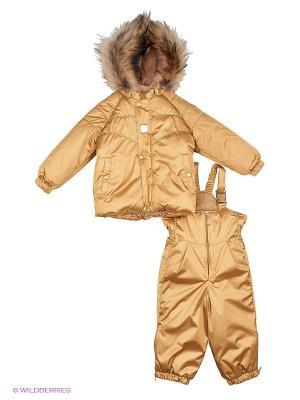Комплект одежды Kerry. Цвет: золотистый