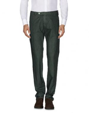 Повседневные брюки BERWICH. Цвет: зеленый