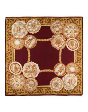 Платок MARINA D'ESTE. Цвет: красно-коричневый