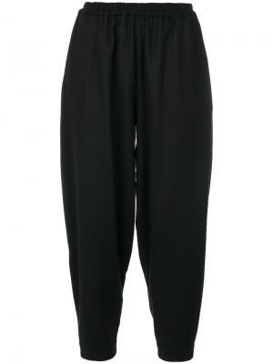 Укороченные брюки Acrobat Toogood. Цвет: чёрный