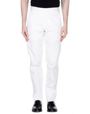 Повседневные брюки RICHARD JAMES. Цвет: белый