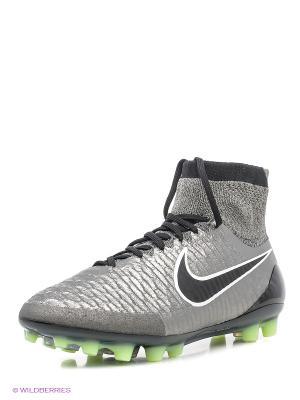 Бутсы MAGISTA OBRA AG-R Nike. Цвет: черный