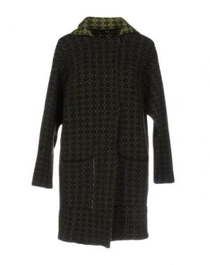 Пальто B.YU. Цвет: зеленый-милитари