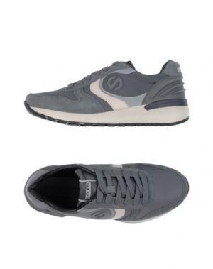 Низкие кеды и кроссовки SPARCO. Цвет: серый